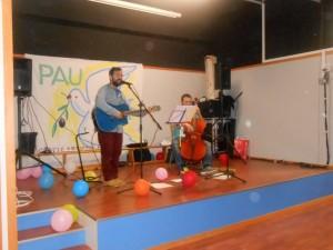 Cants de Pau a l'escola Barcelona